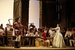 """The Elixir of Love"" at LA Opera"