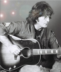"""Tim Piper is John Lennon in """"Just Imagine"""" at the NoHo Arts Center."""