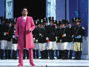 """Juan Diego Florez in """"The Barber of Seville,"""" Production from Teatro Real (Madrid) / photo by Javier del Real"""