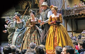 Shakespeare's Globe Theatre Company visits the Broad Stage in November.