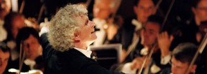 Simon Rattle conducted the Berlin Philharmonic at Disney Hall on Nov. 23 and 24.
