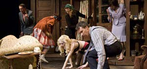 """""""Noises Off"""" has been extended at A Noise Within. / photo by Craig Schwartz"""