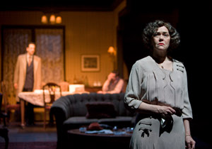"""Deborah Strang in Clifford Odets' """"Awake and Sing"""" at A Noise Within / photo by Craig Schwartz"""