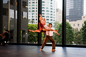 City Ballet dancers Jose Reyes and Genevieve Zander / Photo by Julie Hopkins