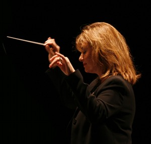 Noreen Green, founder, artistic director and conductor of the Los Angeles Jewish Symphony