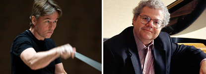 Esa-Pekka Salonen and Emanuel Ax / photo courtesy of LA Phil