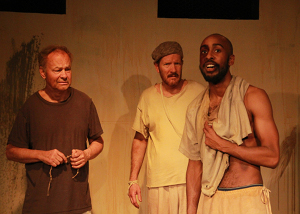 Review: The Group Rep's Revival of 'Someone Who'll Watch Over Me' at the Lonny Chapman Theatre