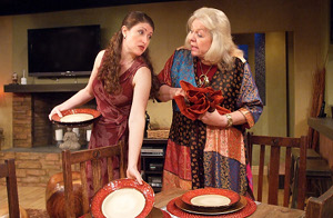 "Beverly Hynds and April Adams in ""The Pain and the Itch"" / Photo by Ed Krieger"