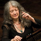 Martha Argerich /Photo courtesy of LA Phil