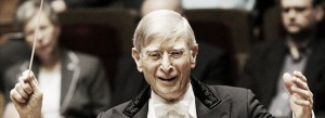 Herbert Blomstedt / Photo courtesy of LA Phil