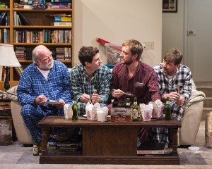 Review: Young Jean Lee turns the gaze on 'Straight White Men' at Kirk Douglas Theatre