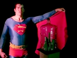 """Mike Kelley Foundation for the Arts """"Superman"""" / Photo courtesy of REDCAT"""