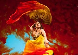 BELLA GAIA choreograph and dance artist Irina Akulenko / Photo by Anna Galuza