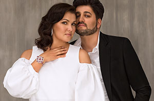 Anna Netrebko and Yusif Eyvazov / Image courtesy of LA Opera