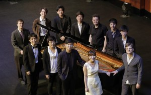 12 semifinalists advance to the Quarterfinal Round at The Fifteenth Van Cliburn International Piano Competition held at Bass Performance Hall in Fort Worth, TX. / Photo by Ralph Lauer
