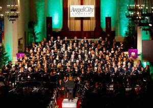 Angel City Chorale/ Photo by Mel Stave