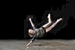Hubbard Street dancer Emilie Leriche, concept by Alejandro Cerrudo / Photo by Quinn B. Wharton