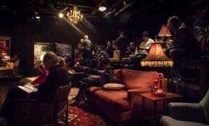 Open Fist Theatre Company's speakeasy / Photo by Darrett Sanders